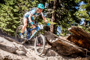 On my last descent to the finish