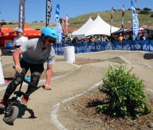 Minibike Pump Track Shenanigans