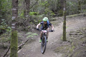 Flowing Through the New DH Trail