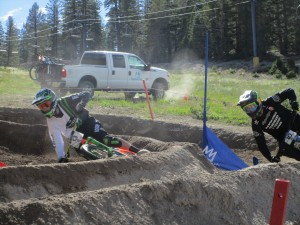 "I ""rested up"" watching Dual Slalom."