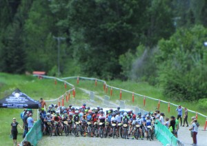 Start of the U23 Men